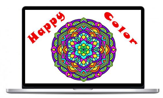 скачать Happy Color на компьютер бесплатно на русском языке